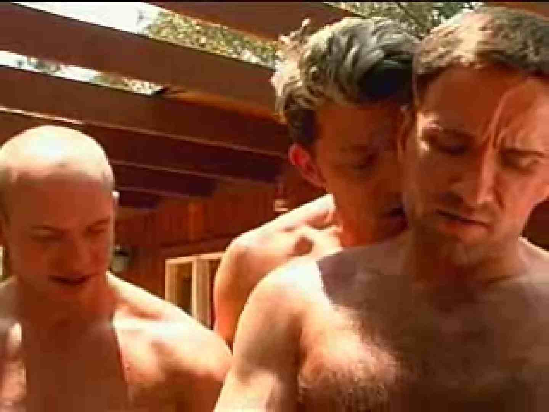 外人さの野外超乱交パーティー ゲイの乱交シーン ゲイエロ画像 99枚 10