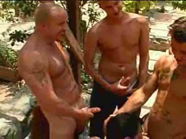 外人さの野外超乱交パーティー ゲイのプレイ ゲイエロ画像 99枚 68