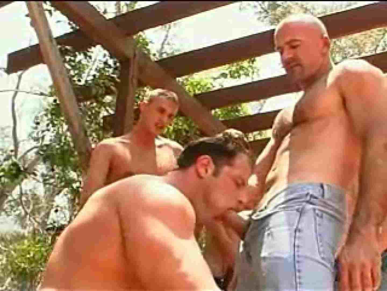 外人さの野外超乱交パーティー ゲイの乱交シーン ゲイエロ画像 99枚 76