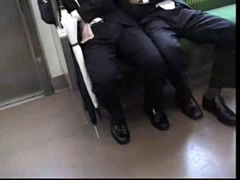 電車内でリーマンの股間撮影 スーツ  72枚 12