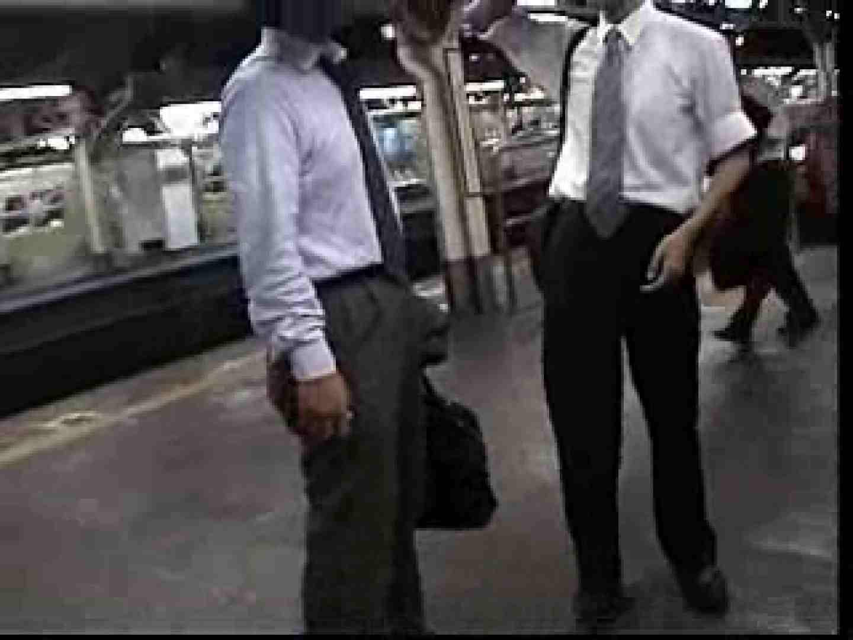 電車内でリーマンの股間撮影 スーツ  72枚 60