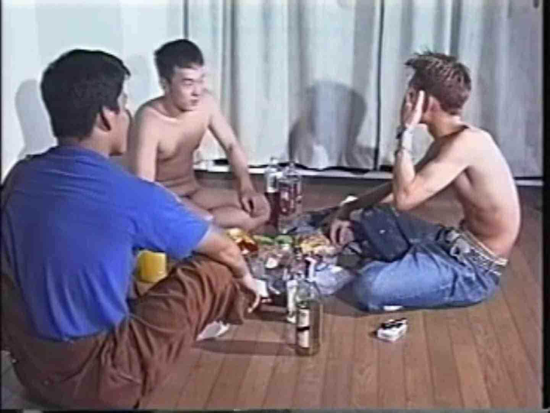 俺たち全裸で宅飲み! !何やってんネン フェラ天国  77枚 36
