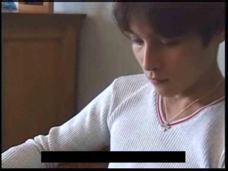 ビデオを見てオナニー中! ! ビデオの男優さんが現れた 顔射シーン | ゲイのオナニー映像  76枚 1