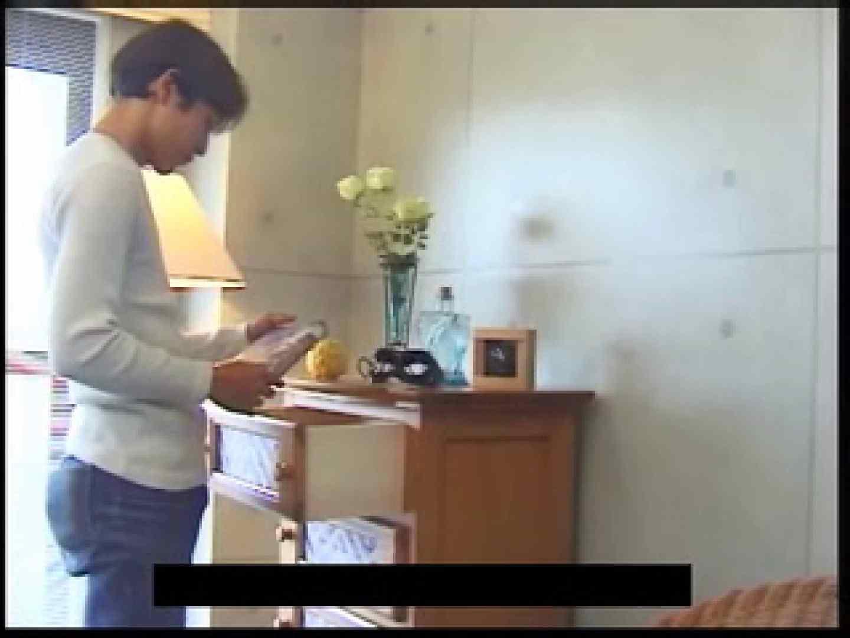 ビデオを見てオナニー中! ! ビデオの男優さんが現れた 顔射シーン | ゲイのオナニー映像  76枚 4