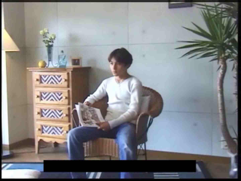 ビデオを見てオナニー中! ! ビデオの男優さんが現れた 顔射シーン | ゲイのオナニー映像  76枚 31
