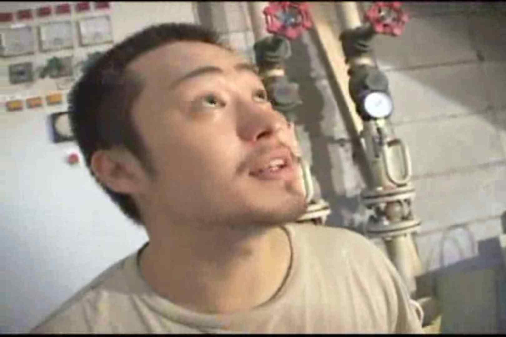 機械室で体育会系男子を手コキ&フェラ!! 男祭り ゲイセックス画像 81枚 2