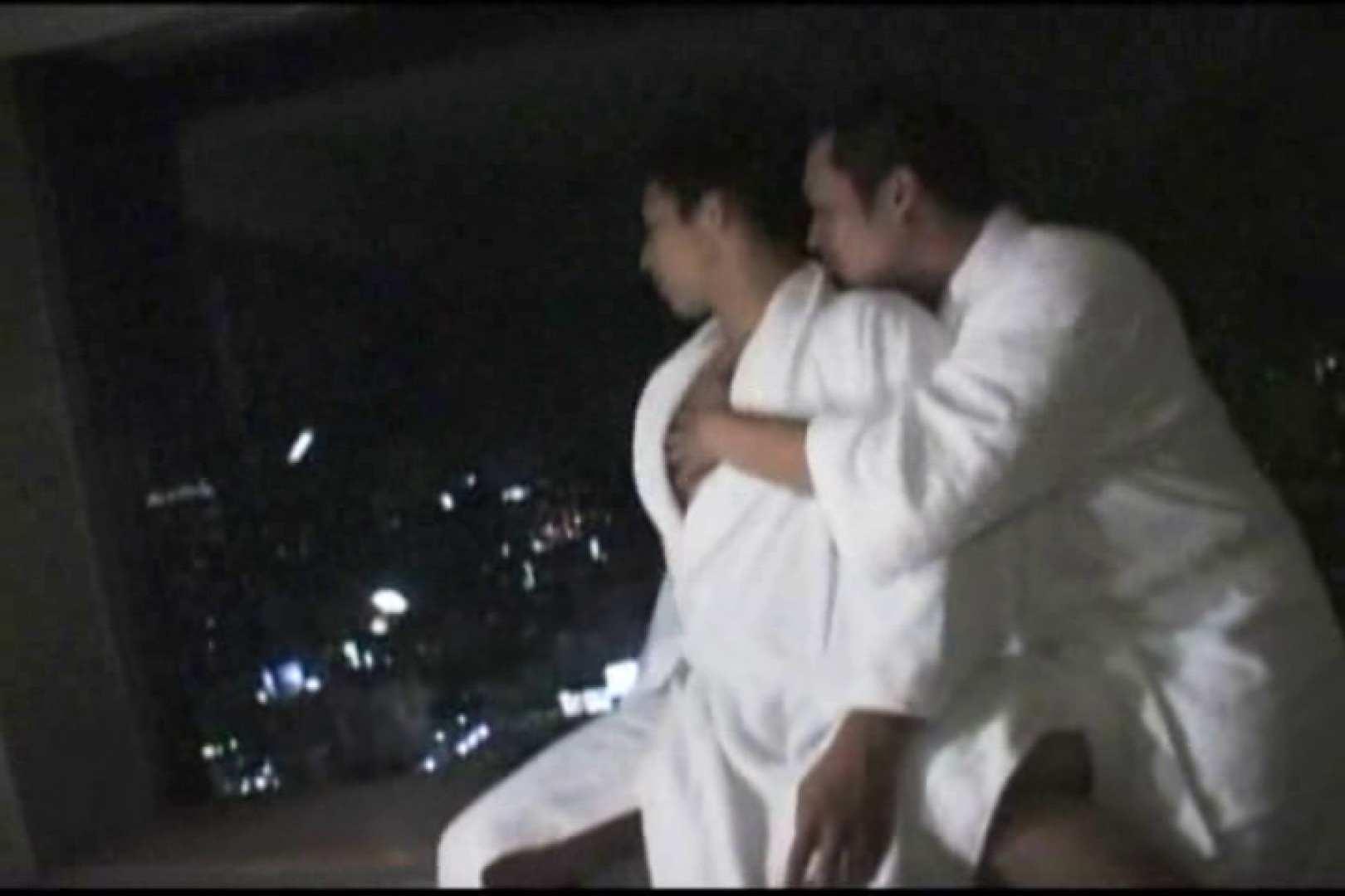 ホテルで密会!!夜景をバックに濃密ファック!! ゲイの裸 | バック  109枚 1