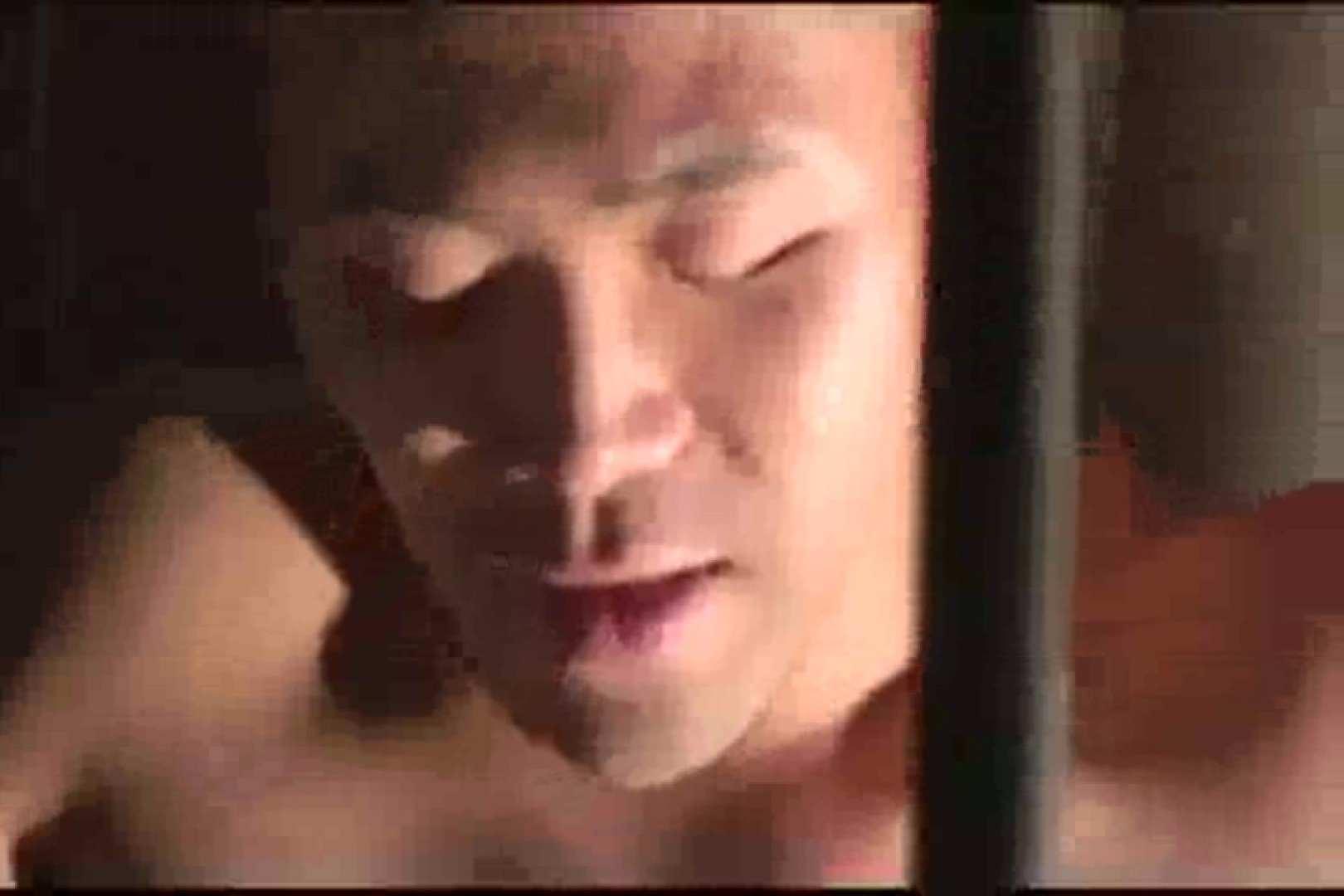 ファッキンファイター!!金網ファイト!! ゲイのオナニー映像 ゲイ丸見え画像 59枚 2