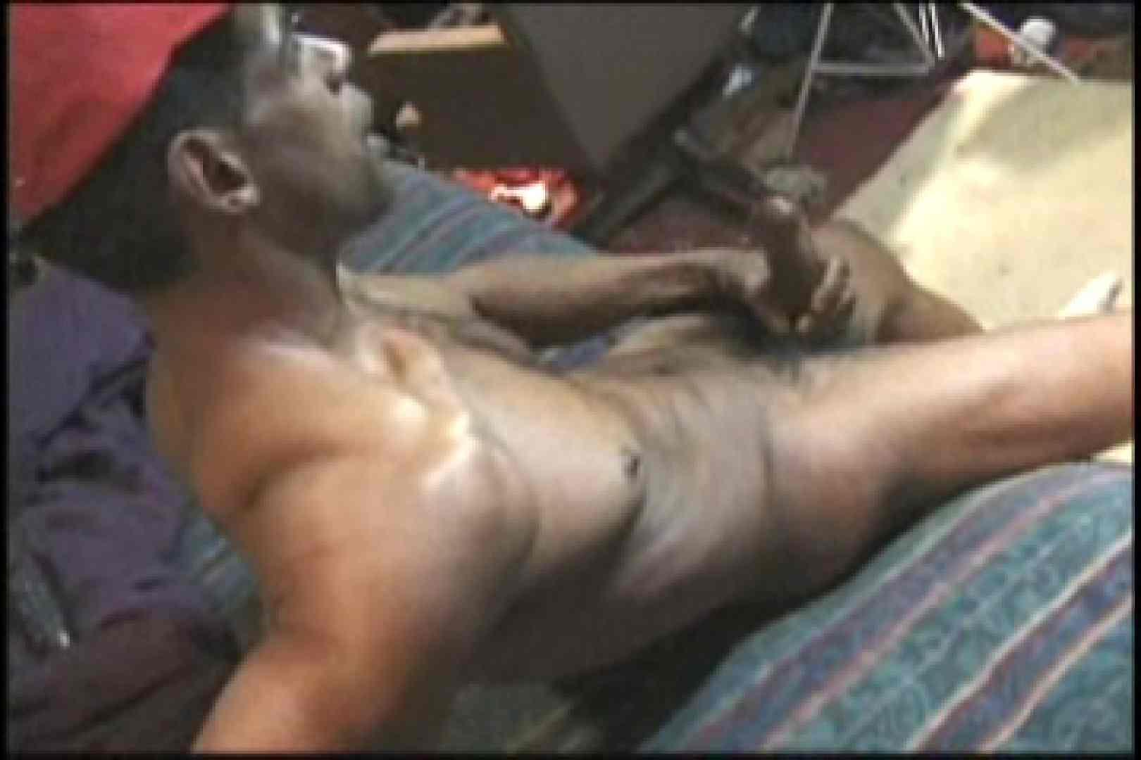 ファンキーな黒人さん!!BLACK POWER 01 フェラ天国 | ゲイのオナニー映像  107枚 37