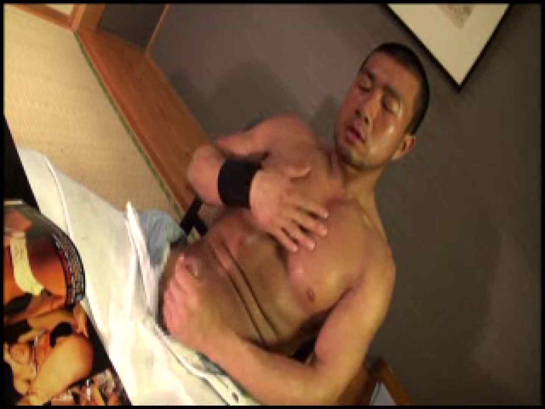SUPER MUSCLE GAIN!!〜鋼鉄の筋肉〜vol.01  ゲイのオナニー映像  74枚 7