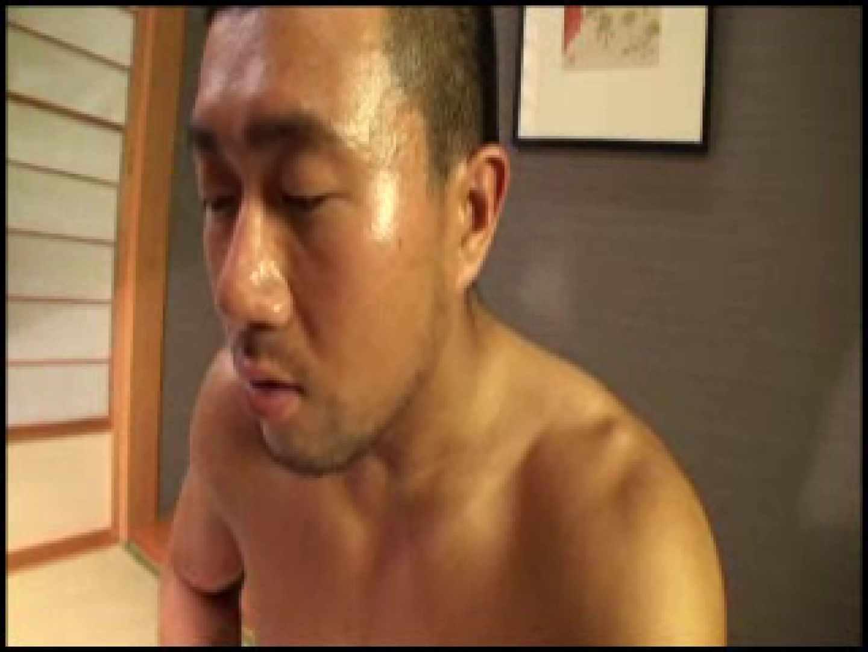 SUPER MUSCLE GAIN!!〜鋼鉄の筋肉〜vol.01  ゲイのオナニー映像  74枚 35