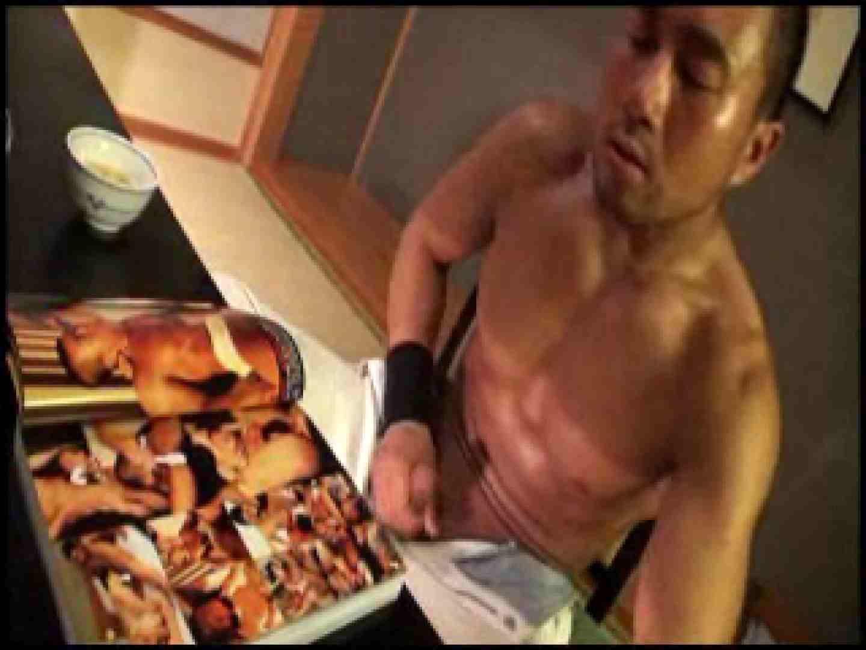 SUPER MUSCLE GAIN!!〜鋼鉄の筋肉〜vol.01  ゲイのオナニー映像  74枚 56