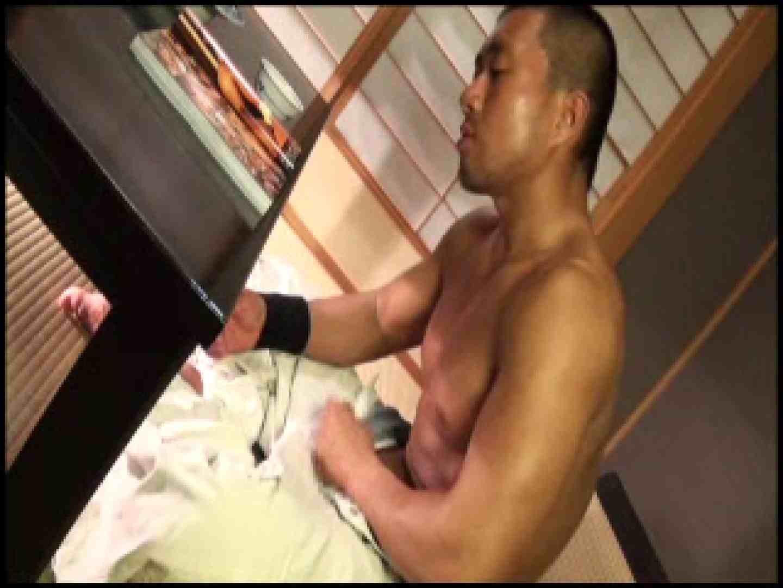 SUPER MUSCLE GAIN!!〜鋼鉄の筋肉〜vol.01  ゲイのオナニー映像  74枚 63